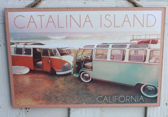 Catalina Island VW Vans