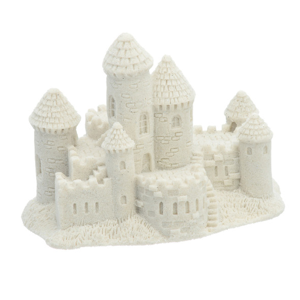 "Small 3"" Sand Castle - White"