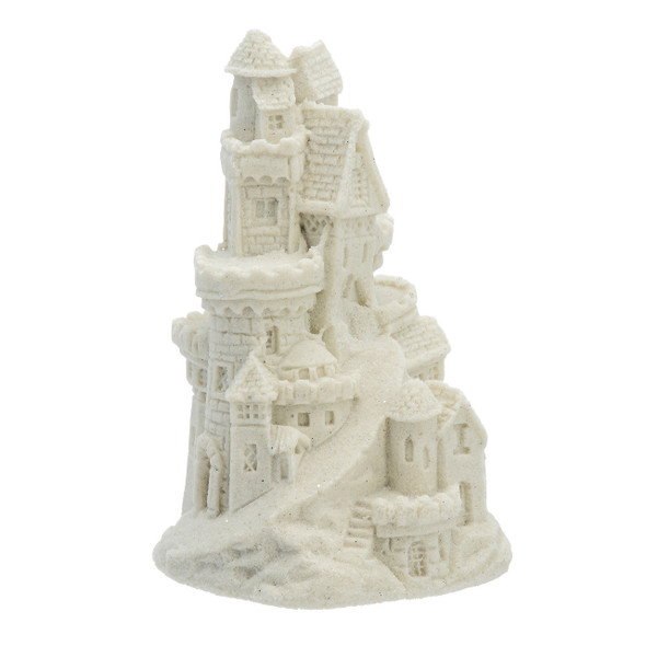"4"" Sand Castle Figure - White"
