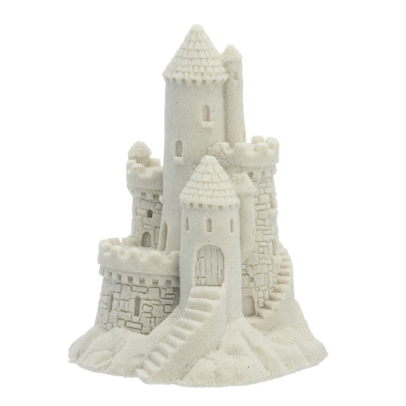 "4.5"" Sand Castle Figure - White"