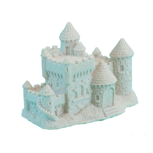 Sand Castle Figurine - White