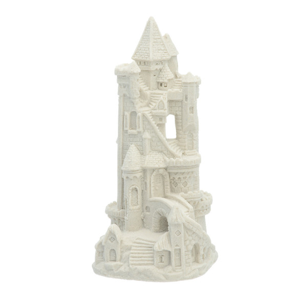 "7"" Tall Sandcastle - White"