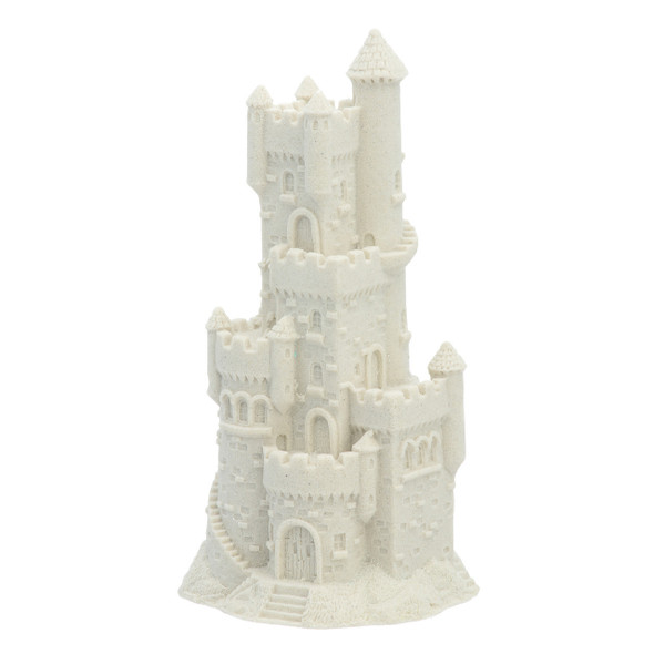 "7.5"" Sandcastle Figure - White"