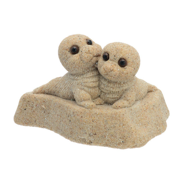 Baby Seals Sand figurine