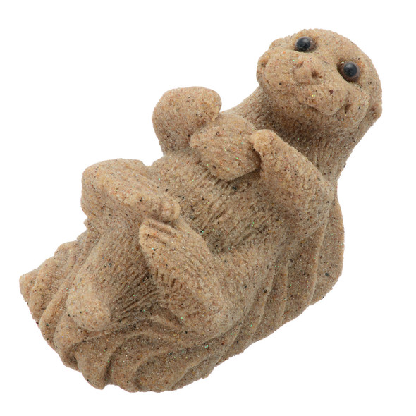 Baby Sea Otter Sand Figure