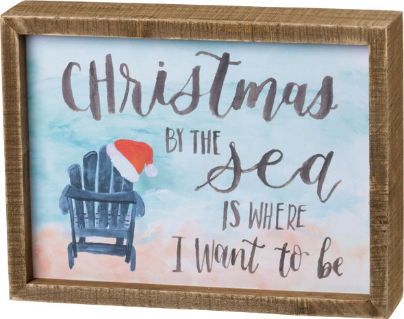 Christmas by the Sea is Where I want to be