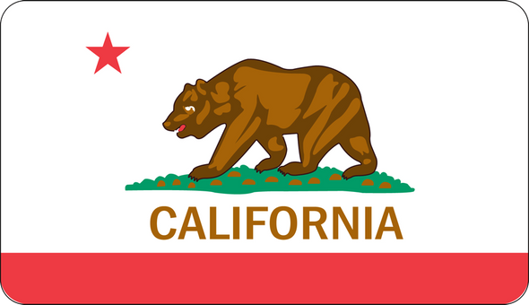 California Bear Flag Sticker
