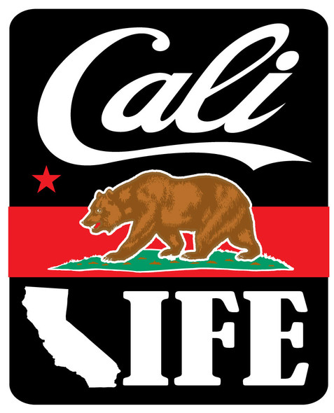 Cali Life Sticker