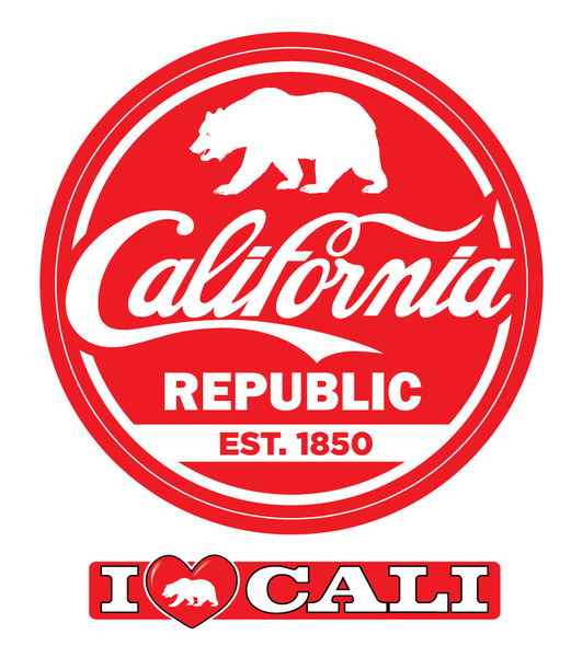 California Cola Sticker