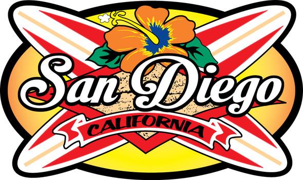 San Diego Longboards sticker