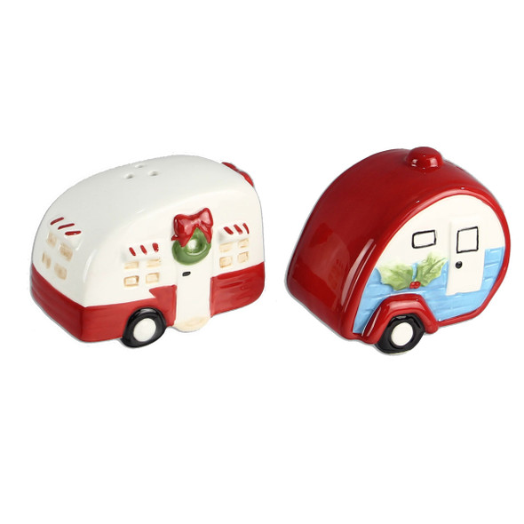Christmas Camper Salt & Pepper Shakers