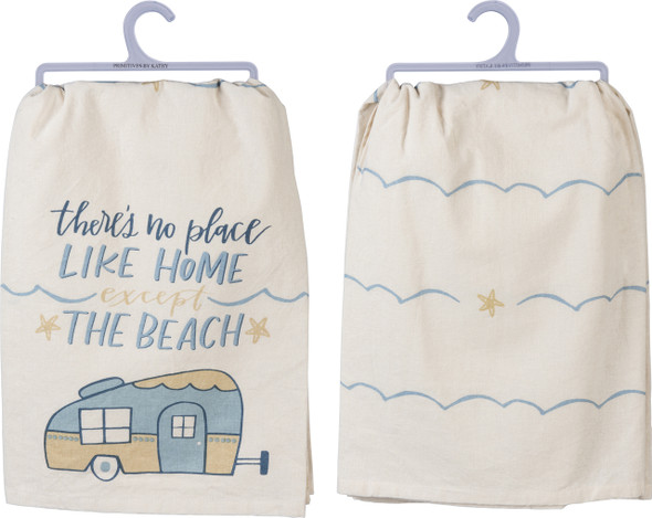 Beach Camper Dish Towel