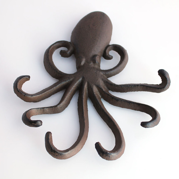 Rust Octopus Iron Hook