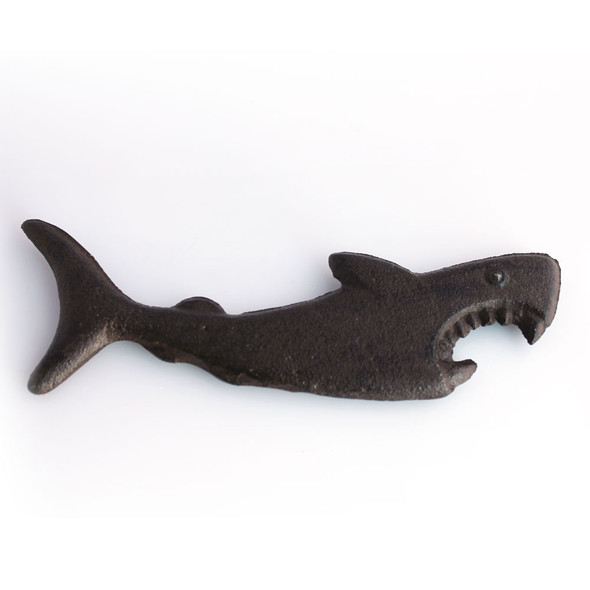 Rust Iron Shark Bottle Opener