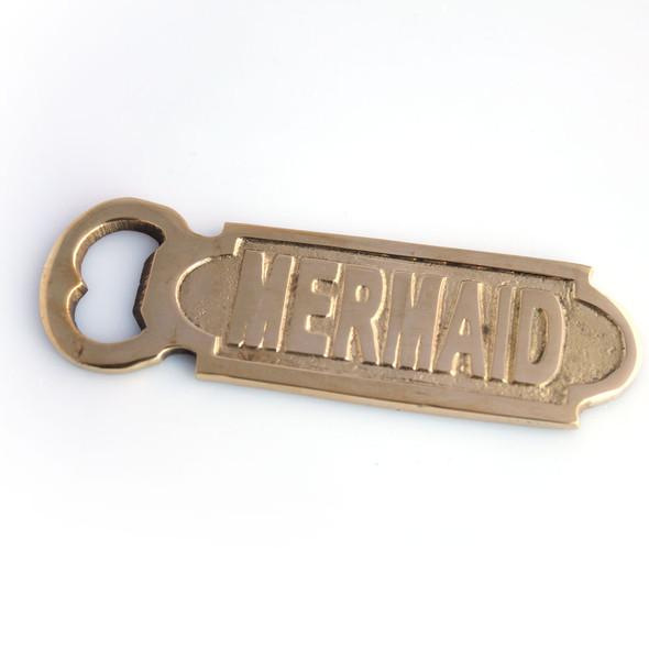 Brass Mermaid Bottle Opener