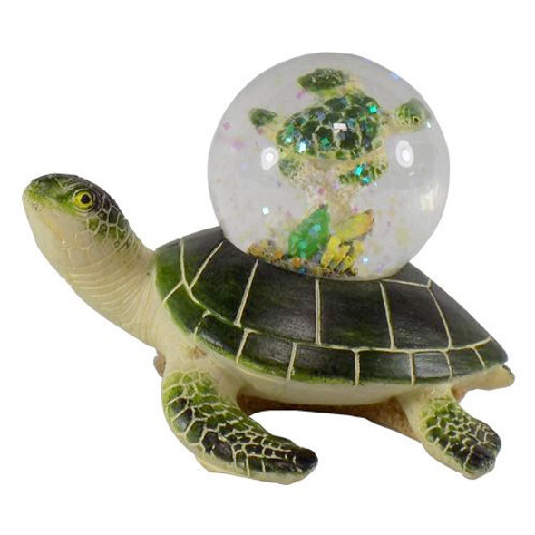 Sea Turtle with Sea Turtle Water Ball