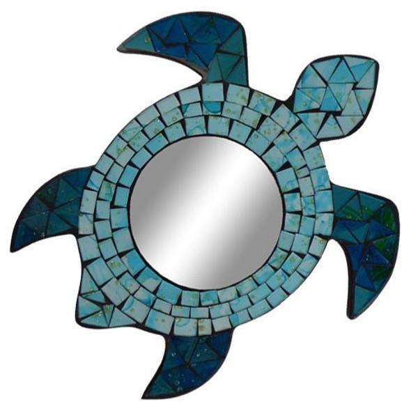 Sea Turtle Mosaic Mirror