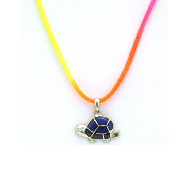 Land Turtle Mood Necklace