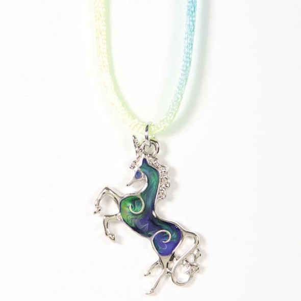Fancy Unicorn Mood Necklace