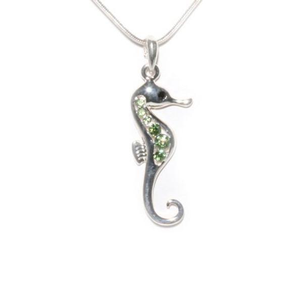 Seahorse Rhinestone Necklace