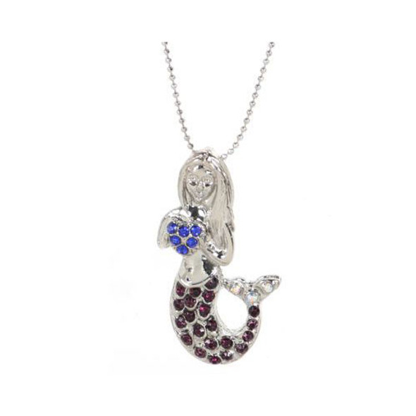 Mermaid Rhinestone Necklace