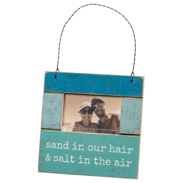 Sand in our hair & Salt in the air Mini Frame