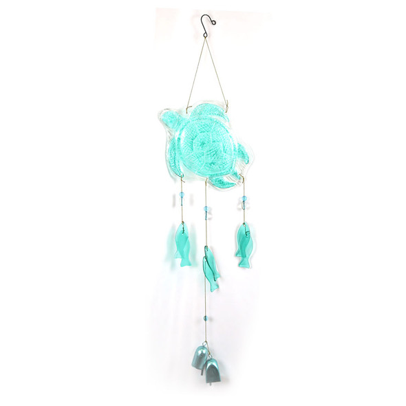 Sea Turtle Glass Chime