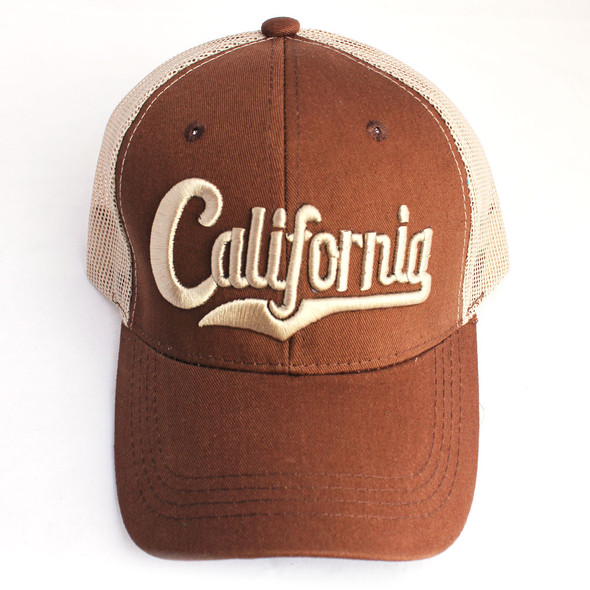 Brown California Hat
