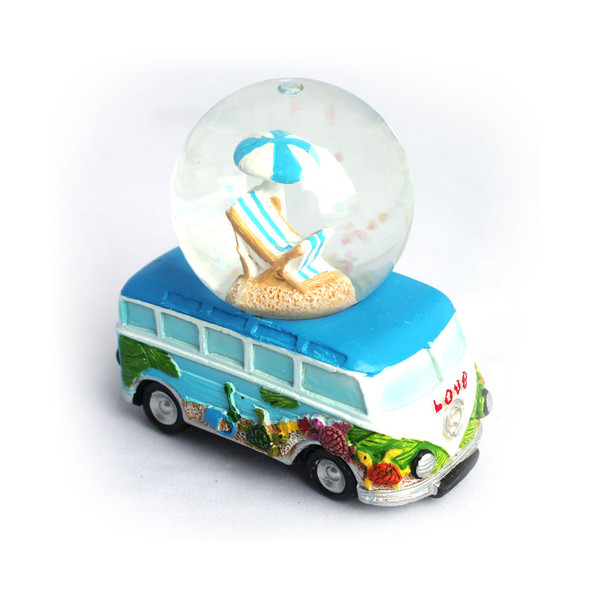 Beach Umbrella Snow Globe