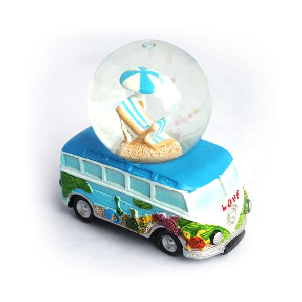 Beach Umbrella Snow Globe