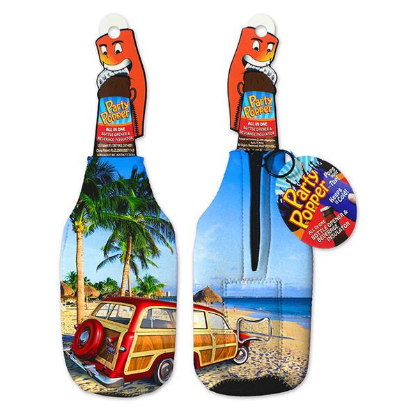 Woody Party Popper Bottle Opener