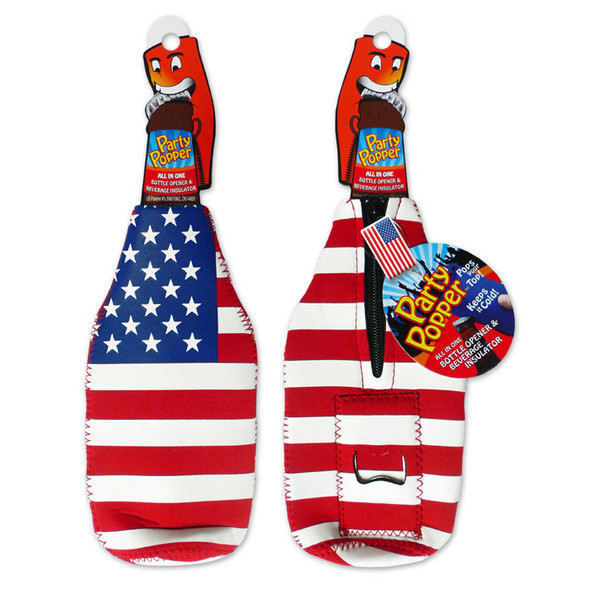 American Flag Party Popper