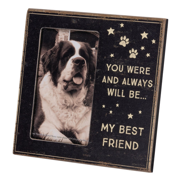 You were and always will be my best friend - dog frame.