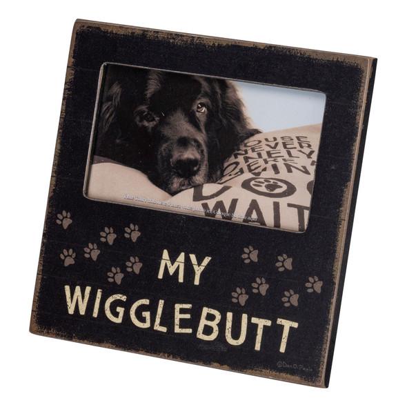 My Wigglebutt Plaque Frame