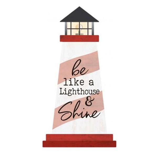 Shine Lighthouse Sign
