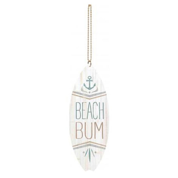 Beach Bum Car Charm