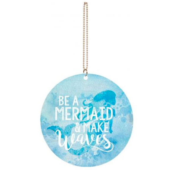 Be a Mermaid Car Charm
