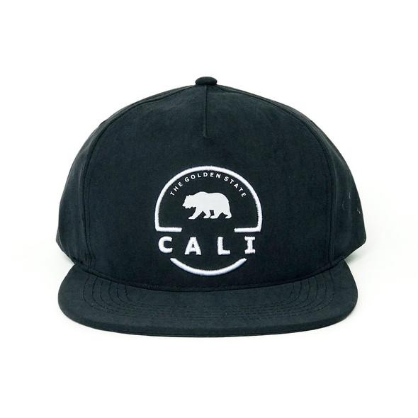 Modern Cali Circle Black Hat