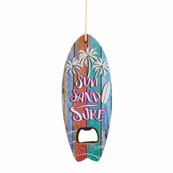 Sun Sand Surf Bottle Opener