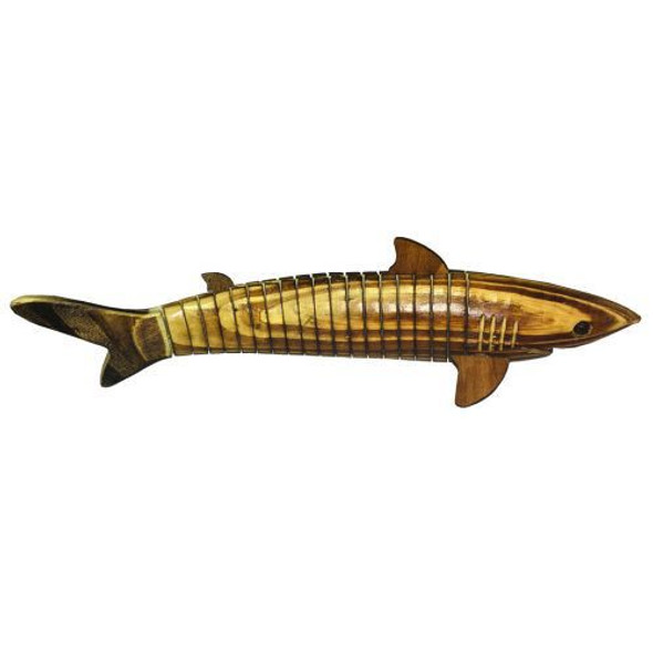 Moveable Wood Shark