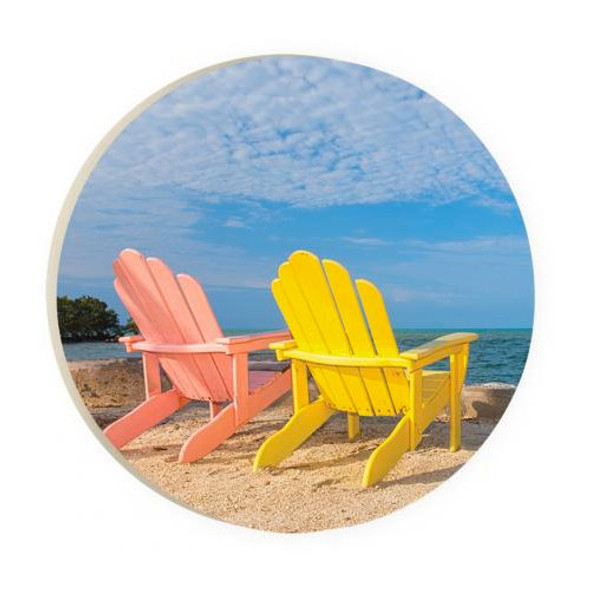 Beach Chair Car Coaster
