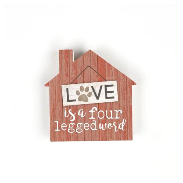 Love is a four-legged word.
