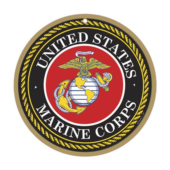 Marine Corps Wood Plaque