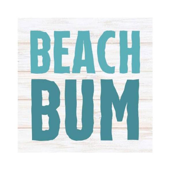 Beach Bum Small Block Sign