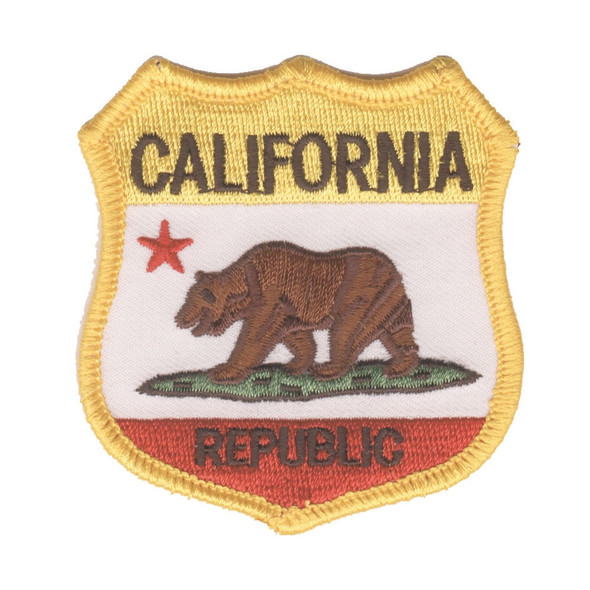 California Republic Flag Crest Patch