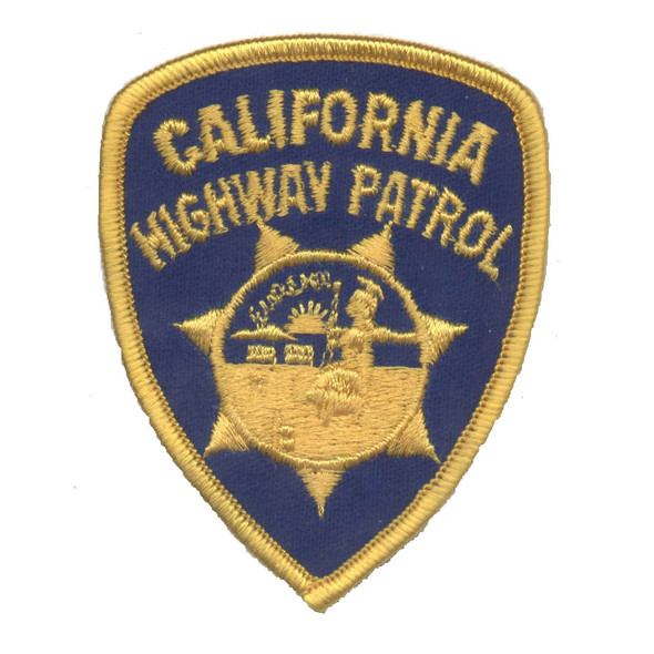 California Highway Patrol Patch