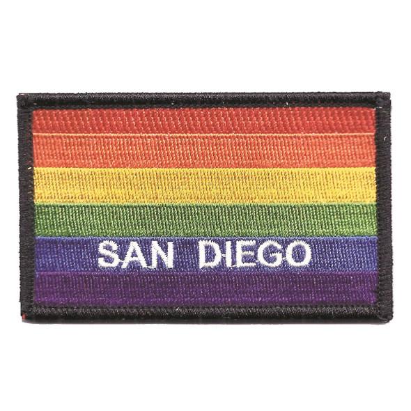 San Diego Rainbow Flag Patch