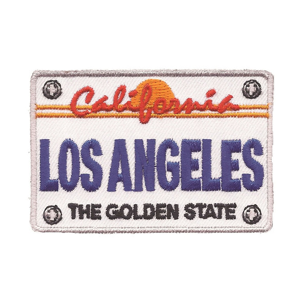 Los Angeles License Plate Patch