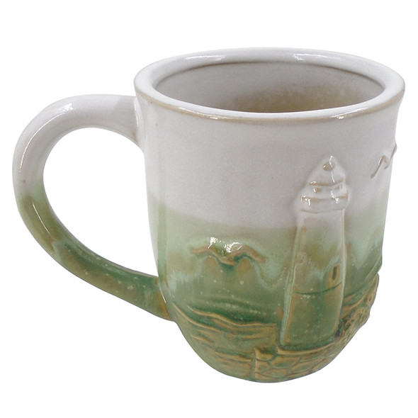 Green Lighthouse Mug