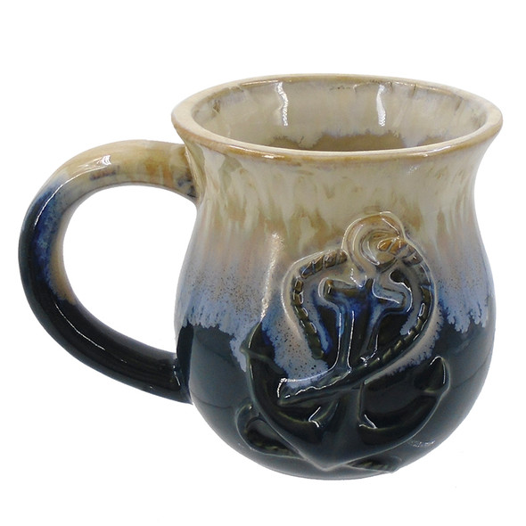 Blue Anchor Mug
